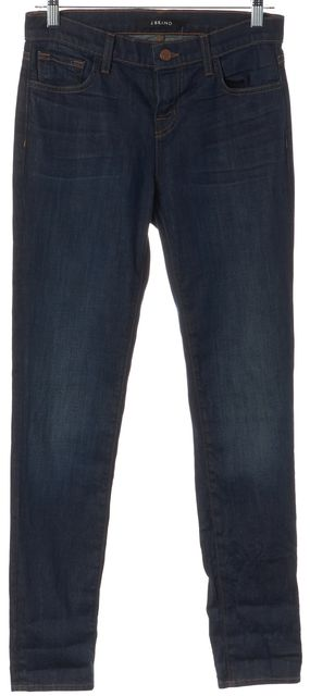 J BRAND #9044E431 Blue Mid-Rise Dark Side Jake Slim Fit Jeans