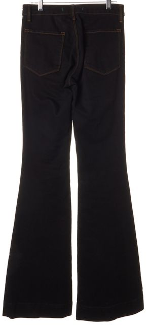 J BRAND #2220 Jett Black Stretch Cotton The Doll Flare Jeans