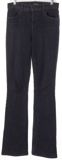 J BRAND #8017 Transmission Gray High-Rise Remy Flare Jeans