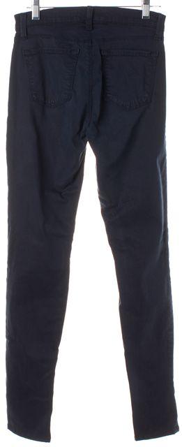 J BRAND Deep Blue Velvet Super Skinny Jeans