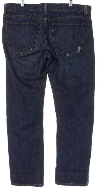J BRAND #1257 Blue Distressed Denim Clyde Relaxed Jeans