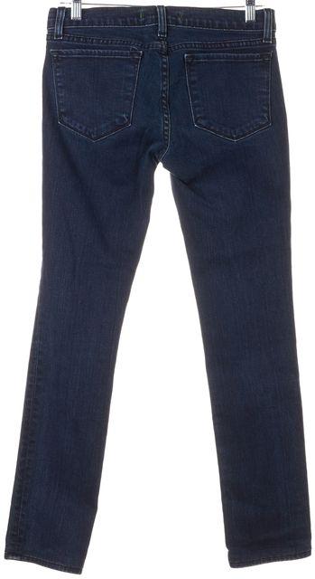 J BRAND #912 Bru Blue Stretch Cotton Pencil Leg Skinny Jeans