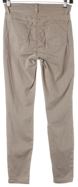 J BRAND #23110 Travertine Beige Cropped Maria Chinos Pants