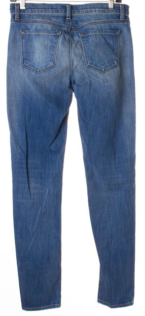 J BRAND Cherish Blue Jake Mid-Rise Skinny Jeans