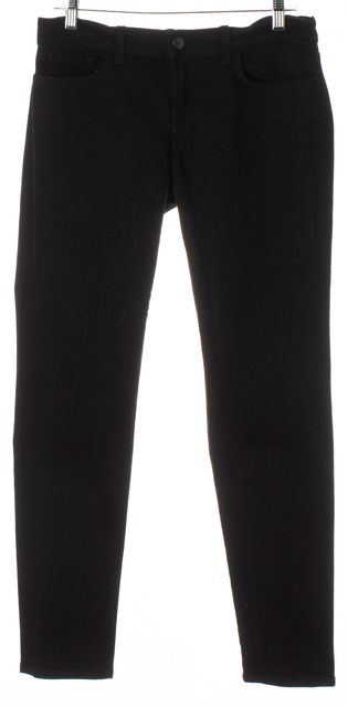 J BRAND #3910 Black Jett Cotton Denim Skinny Leg Jeans