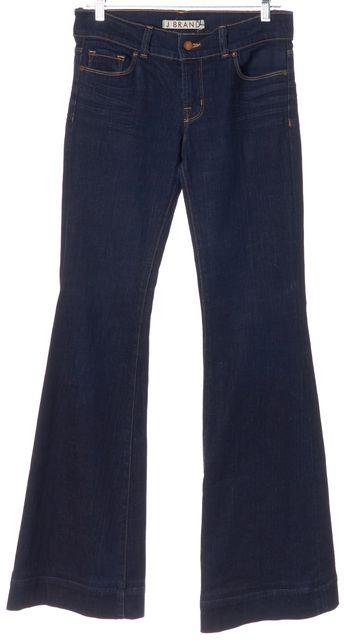 J BRAND #722 Ink Blue Stretch Cotton Lovestory Flare Jeans