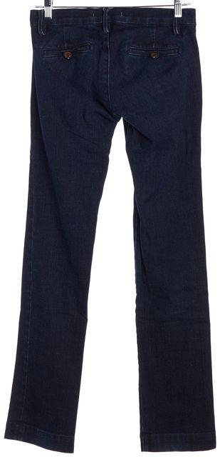 J BRAND Blue Dark Wash Trouser Skinny Jeans