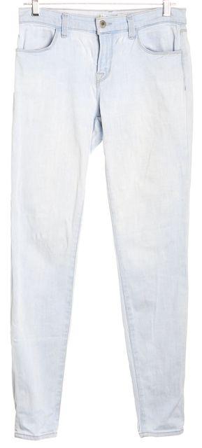 J BRAND Blue Super Skinny Iceland Skinny Jeans