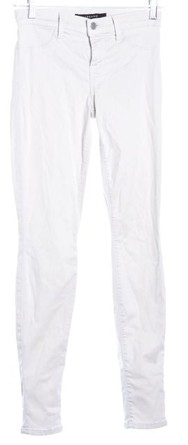 J BRAND Ivory Skinny Pants
