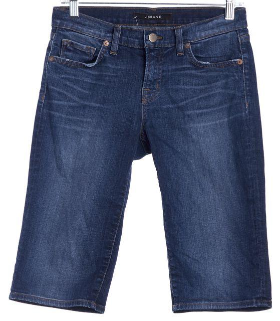 J BRAND Blue Denim Bermuda, Walking Shorts