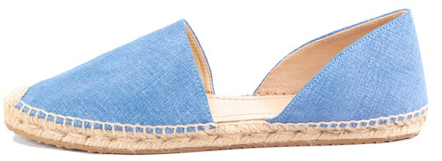 JIMMY CHOO Blue Espadrille Sandals