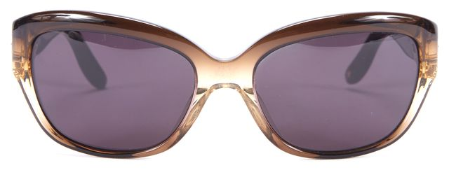JIMMY CHOO Brown Jacqueline/S Oval Sunglasses