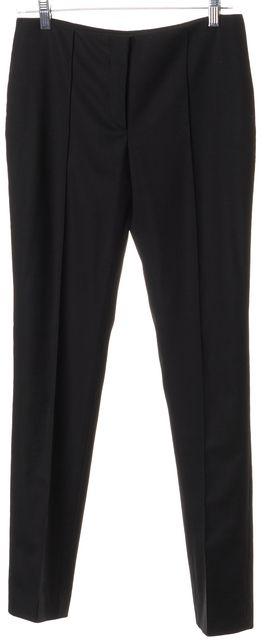 J. MENDEL Black No Pocket Casual Dress Pants