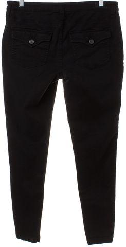 JOIE Black Denim Skinny Cargo Jeans