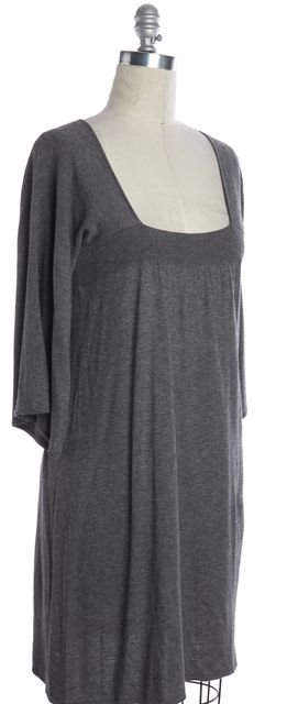 JOIE Gray Square Neck Sweater Dress