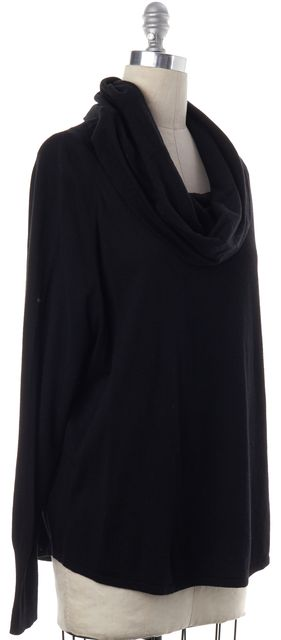 JOIE Black Long Sleeve Cowl Neck Sweater