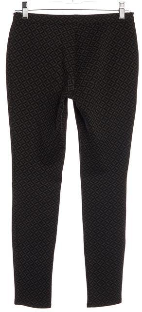 JOIE Black Gray Geometric Print Leggings