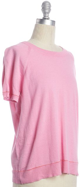 JOIE Pink Knit Crewneck Sweater
