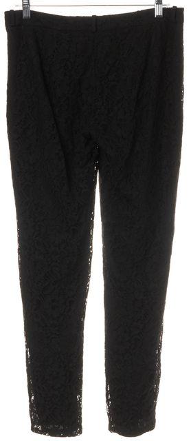 JOIE Black Lace Trouser Dress Pants
