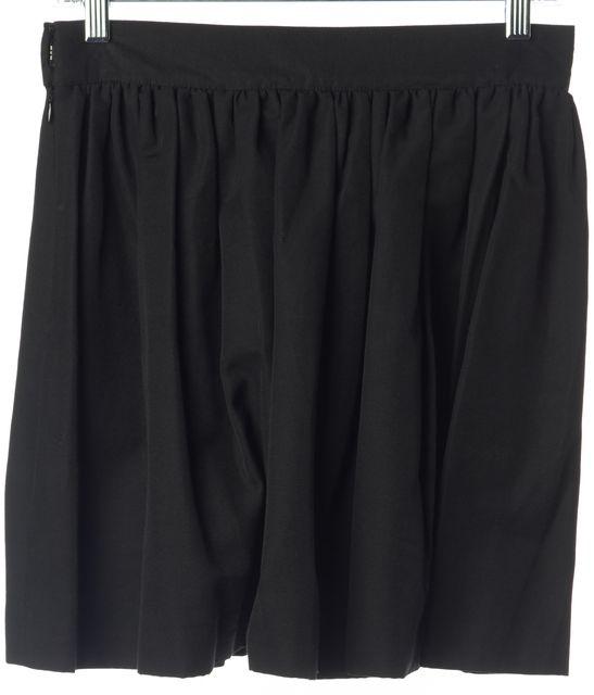 JOIE Black Full Mini Skirt
