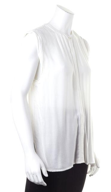 JOIE White Sleeveless Blouse Top