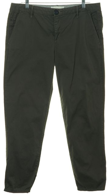 JOIE Casual Olive Green Cargo Cropped Pants