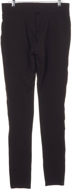 JOIE Brown Stretch Jersey Super Skinny Leggings