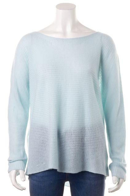 JOIE Baby Blue Cashmere Dolman Sleeve Scoop Neck Knit Top Blouse