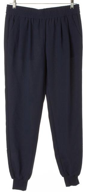 JOIE Navy Blue Stretch Elastic Waist Knit Cuffs Jogger Pants