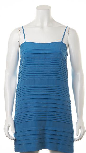 JOIE Blue Silk Shift Dress