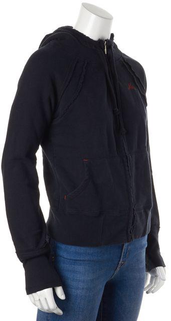 JOIE Black Hooded Sweatshirt
