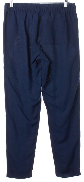 JOIE Dark Navy Drawstring Cuff Hem Casual Pants