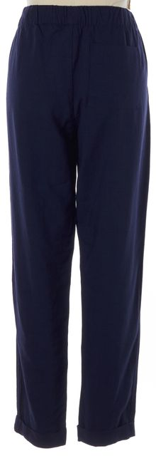 JOIE Navy Blue Slim Drawstring Cuffed Casual Pants