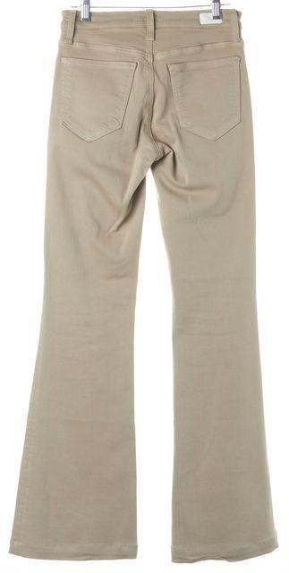JOIE Cement Beige Mid-Rise Nouveau Flare Jeans