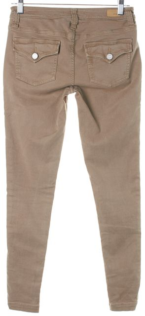 JOIE Brown Stretch Cotton So-Real Skinny Cargo Pants