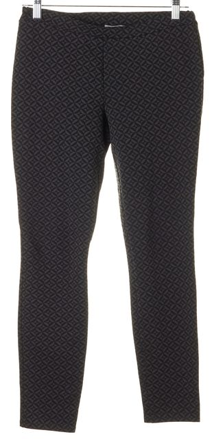 JOIE Gray Black Geometric Print Casual Stretch Leggings
