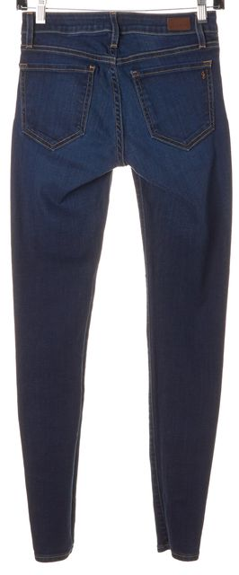 JOIE Ravine Blue Stretch Cotton Mid-Rise Skinny Jeans