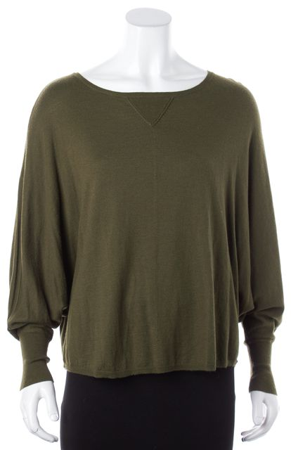 JOIE Olive Green Knit Top