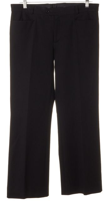 JOSEPH Black Rocket Cropped Trouser Dress Pants