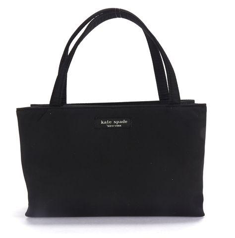 KATE SPADE Black Nylon Mini Tote Bag