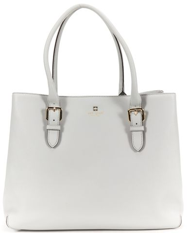 KATE SPADE Authentic Gray Saffiano Leather Tote Shoulder Bag