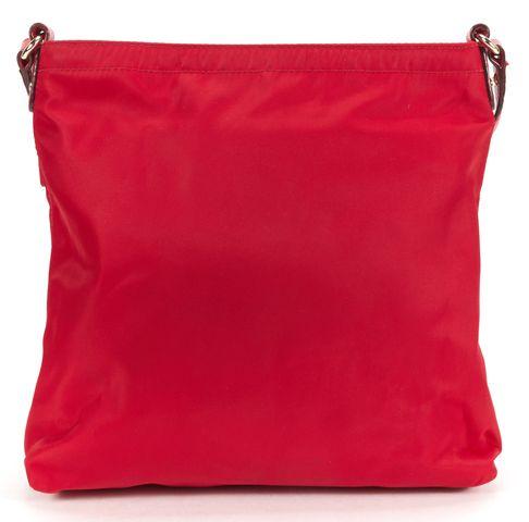 KATE SPADE Authentic Red Nylon Classic Crossbody Bag