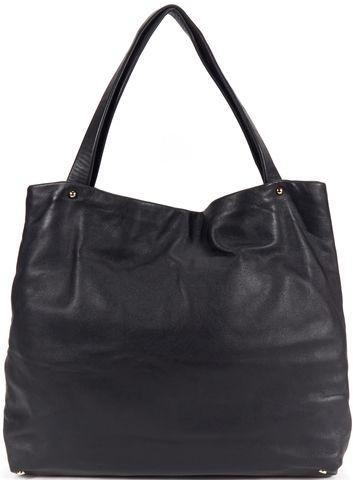 KATE SPADE Black Leather Shoulder Bag Tote