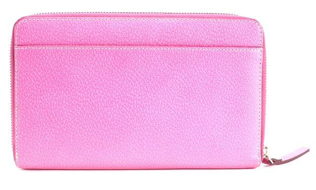 KATE SPADE Pink Leather Zip Around Wallet