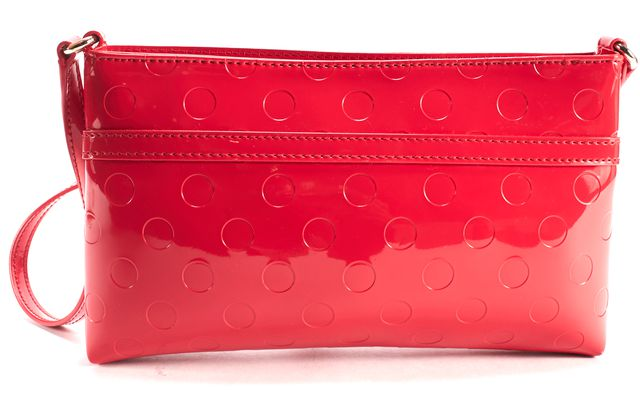 KATE SPADE Red Patent Leather Crossbody Bag