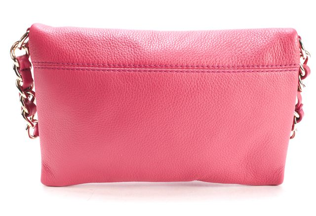 KATE SPADE Pink Pebbled Leather Crossbody Bag