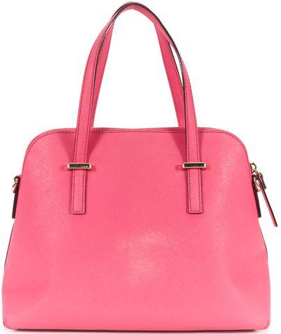 KATE SPADE Pink Confetti Leather Cedar Street Maise Top Handle Bag