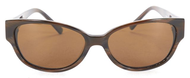 KATE SPADE Brown Acetate Frame Small Frame Oval Sunglasses