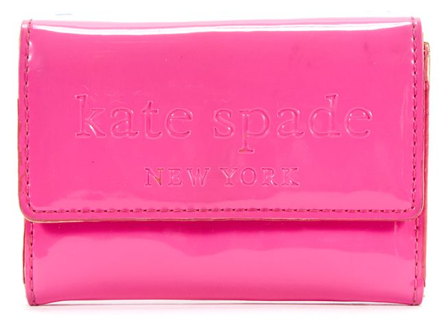 KATE SPADE Pink Patent Leather Wallet