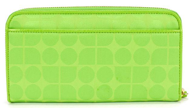 KATE SPADE Green Zip Around Wallet